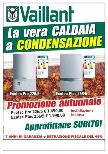 Caldaie a condensazione vaillant offerta d 39 autunno for Caldaie vaillant a condensazione